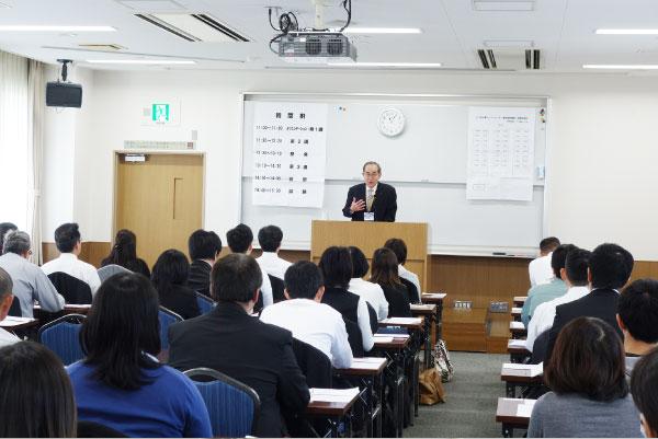 仏事コーディネーター資格審査試験・講習の様子